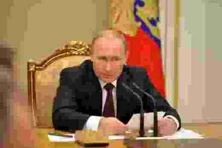 Putin at meeting of Security Council, 20 November
