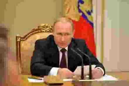 Putin at meeting of Security Council, 20 November