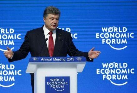 Davos, Poroshenko claiming 9000 Russians, Reuters