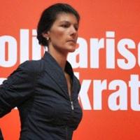 """DIE LINKE Jüdin Sarah Wagenknecht in Panik: """"Kommunistische Revolution in der BRD durch Staatsstreich von Erdogan in Gefahr!"""""""