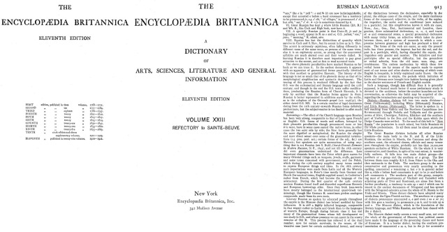 Language Britannica Concise Encyclopedia Russian 116