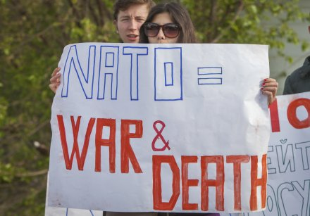 NATO equals war and death, Moldova, Sputnik 6-2-16