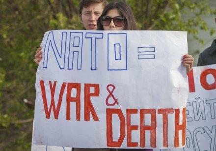 NATO equals war and death, Moldova, Sputnik 6-2-16